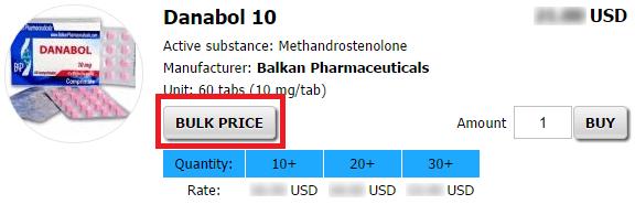 Bulk Price