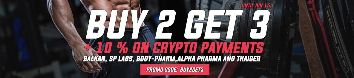June Buy 2 Get 3 2020