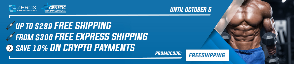 Zerox&Genetic Free Shipping September 2020