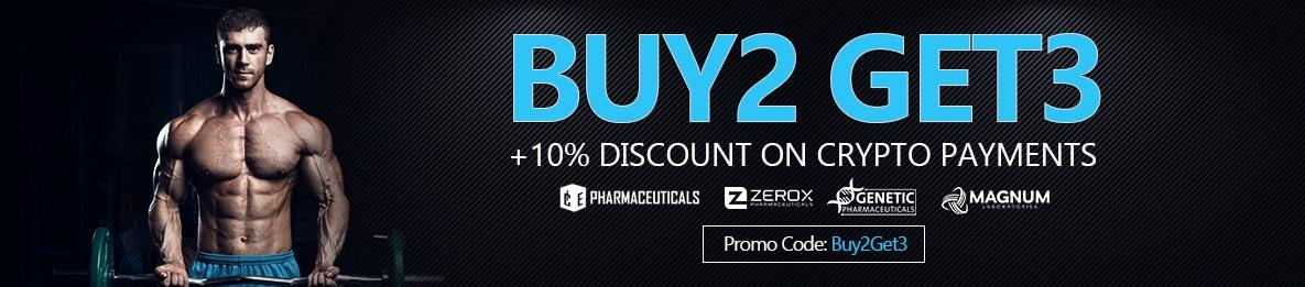 April 2021 - Buy 2 Get 3 Deal