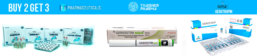 Ice Pharma, Geriostim HGH and Gerotropin
